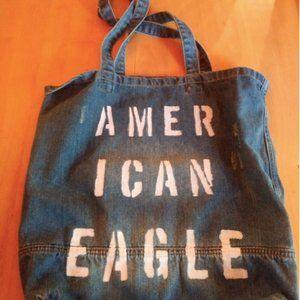 American Eagle Jean Tote Bag